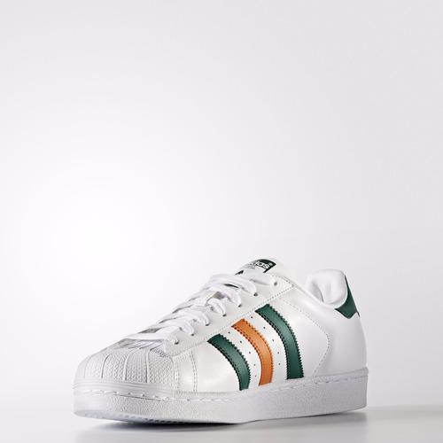 san francisco 01b8a f650f ... shop zapatillas adidas superstar original verde naranja on sale 1c35d  d1107 . ab128 75971
