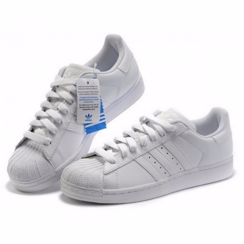adidas superstar zapatilla blancas