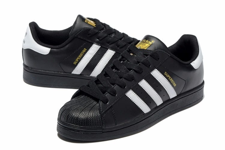 adidas superstars negras