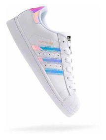 Zapatillas adidas Superstar Originales Tornasoladas Hologram