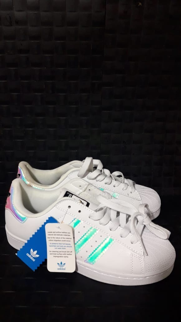 Zapatillas adidas Superstar Originales Tornasoladas T 39