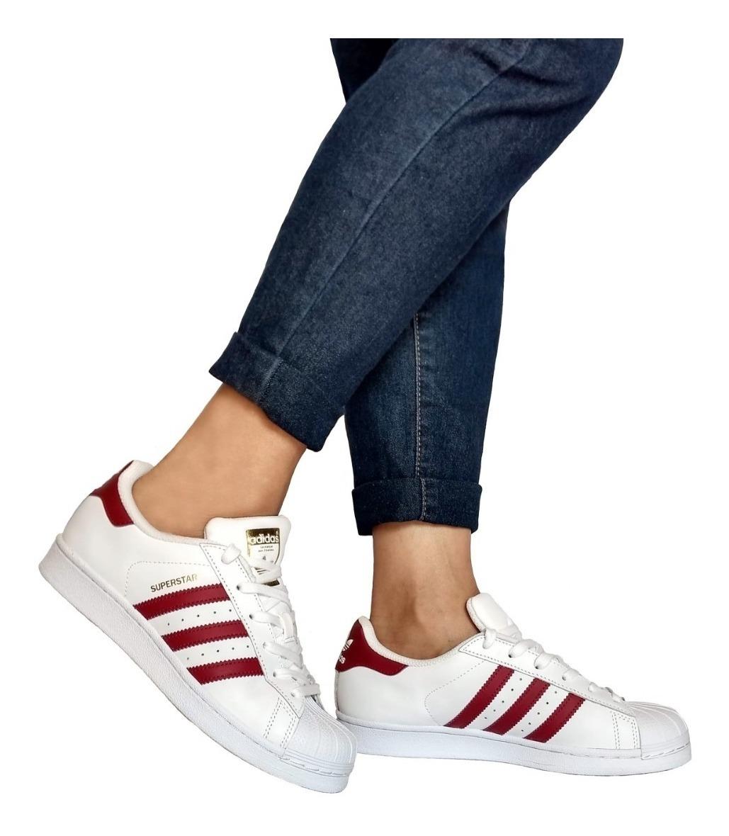 Zapatillas adidas Superstar Originals Bordo $ 6.000,00