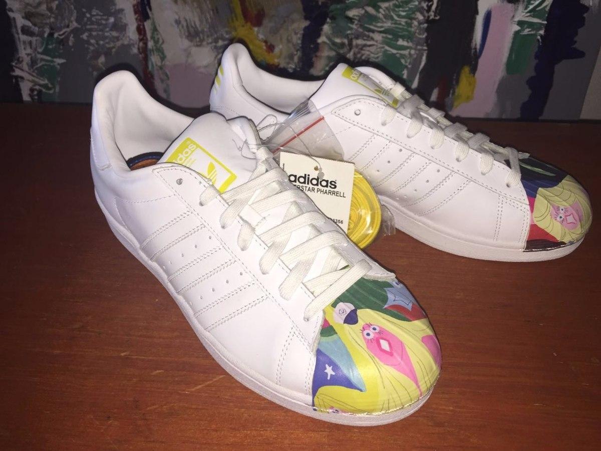 Zapatillas adidas Superstar Pharrell Williams Negras