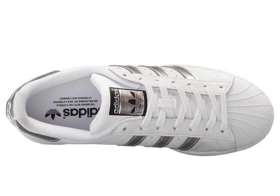 zapatillas adidas superstar plateadas originales. Cargando zoom. f8a76b9bf16ab