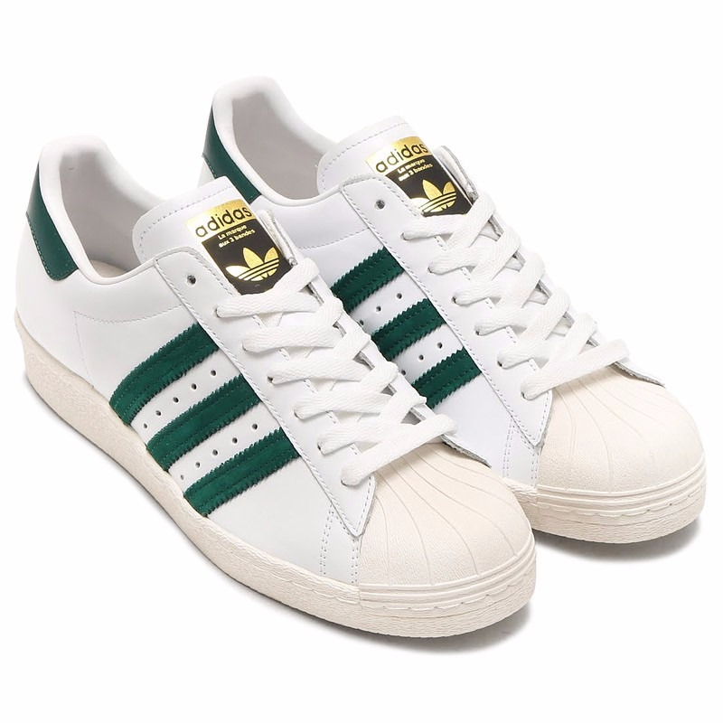 adidas superstar verdes