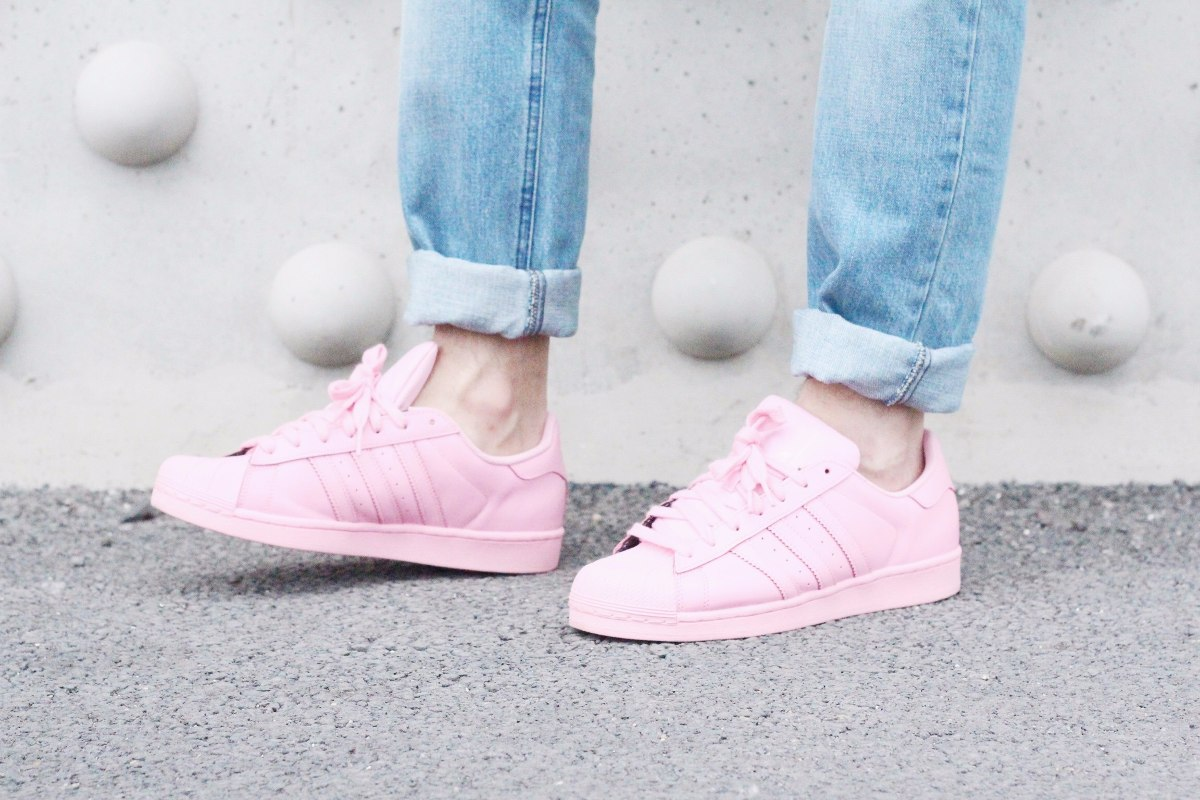 Adidas Superstar Rosa Clarito
