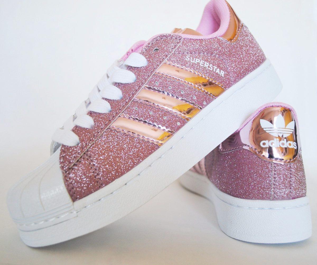 cheap adidas superstar rosado glitter b0f1e 37b2f