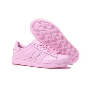 bambas adidas superstar rosas