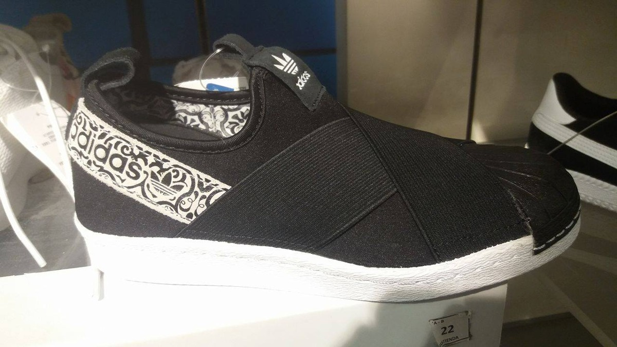 669204767a101 zapatillas adidas superstar slip on! Cargando zoom.