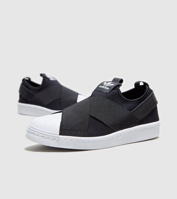 ffe3e8dd5ca8c Zapatillas adidas Superstar Slip On Originales Negras -   2.399