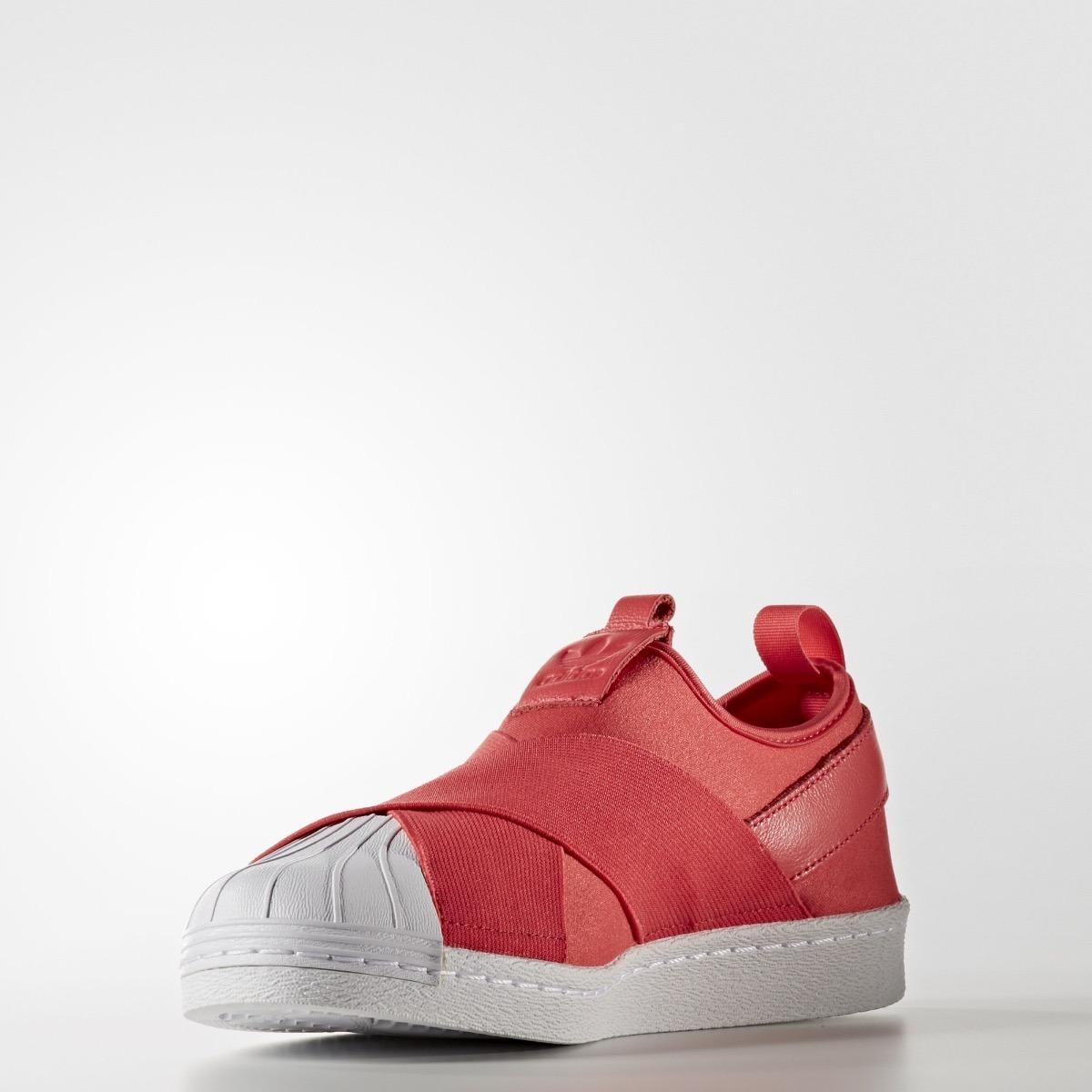 431a6b0f1a41b zapatillas adidas superstar slip on rojas. Cargando zoom.