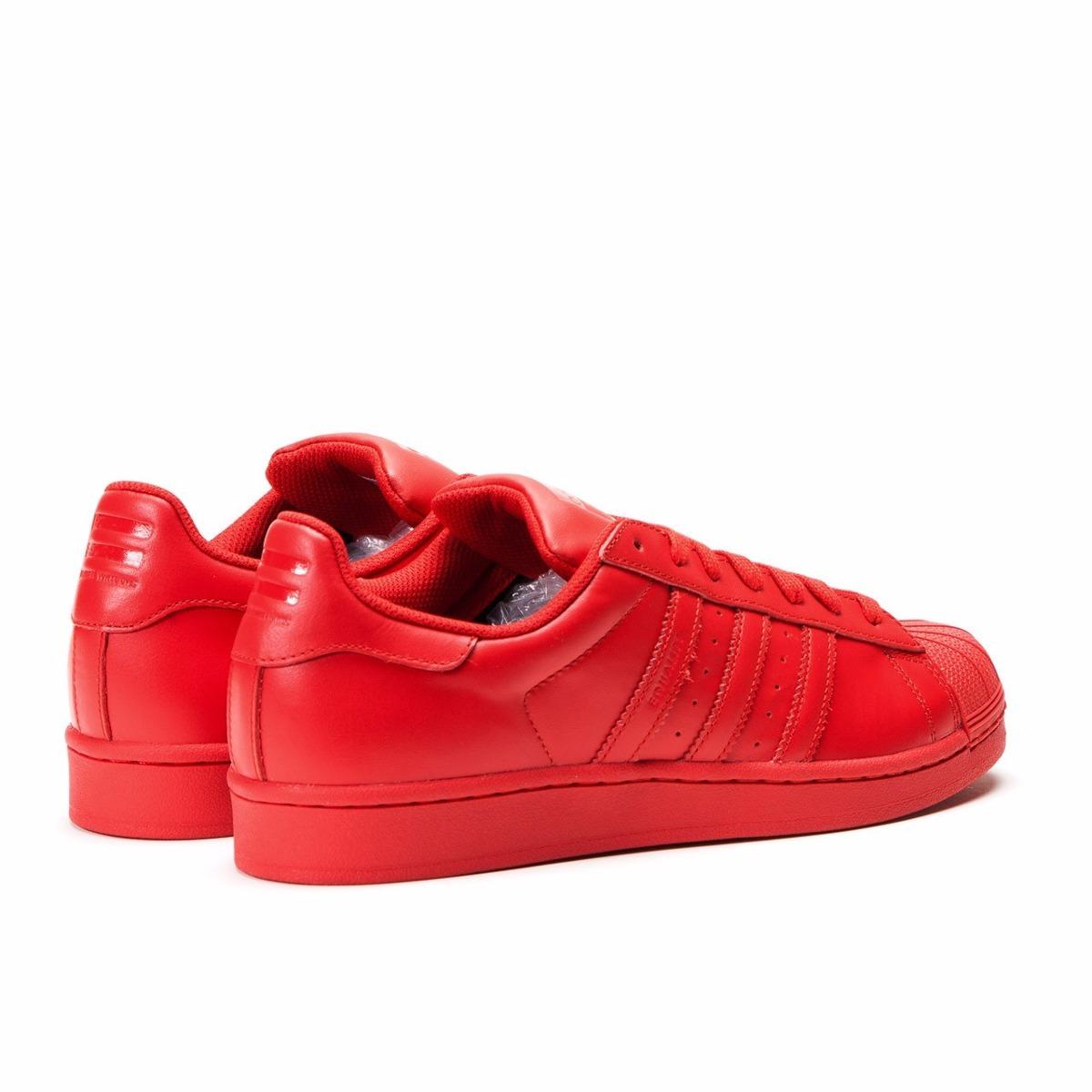 uk availability d598a d802c Original Hombre Superstar Adidas Mujer Zapatillas Supercolor awfR8Hq
