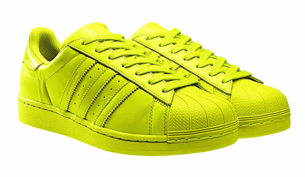 superstar adidas verdes