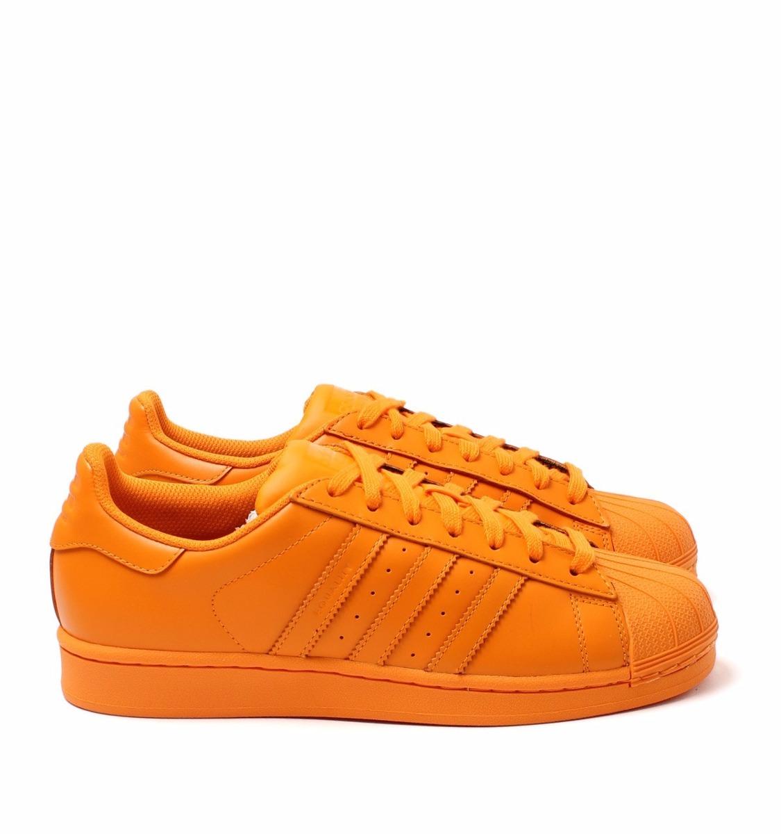 adidas mujer naranja