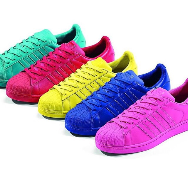 adidas superstar amarillas