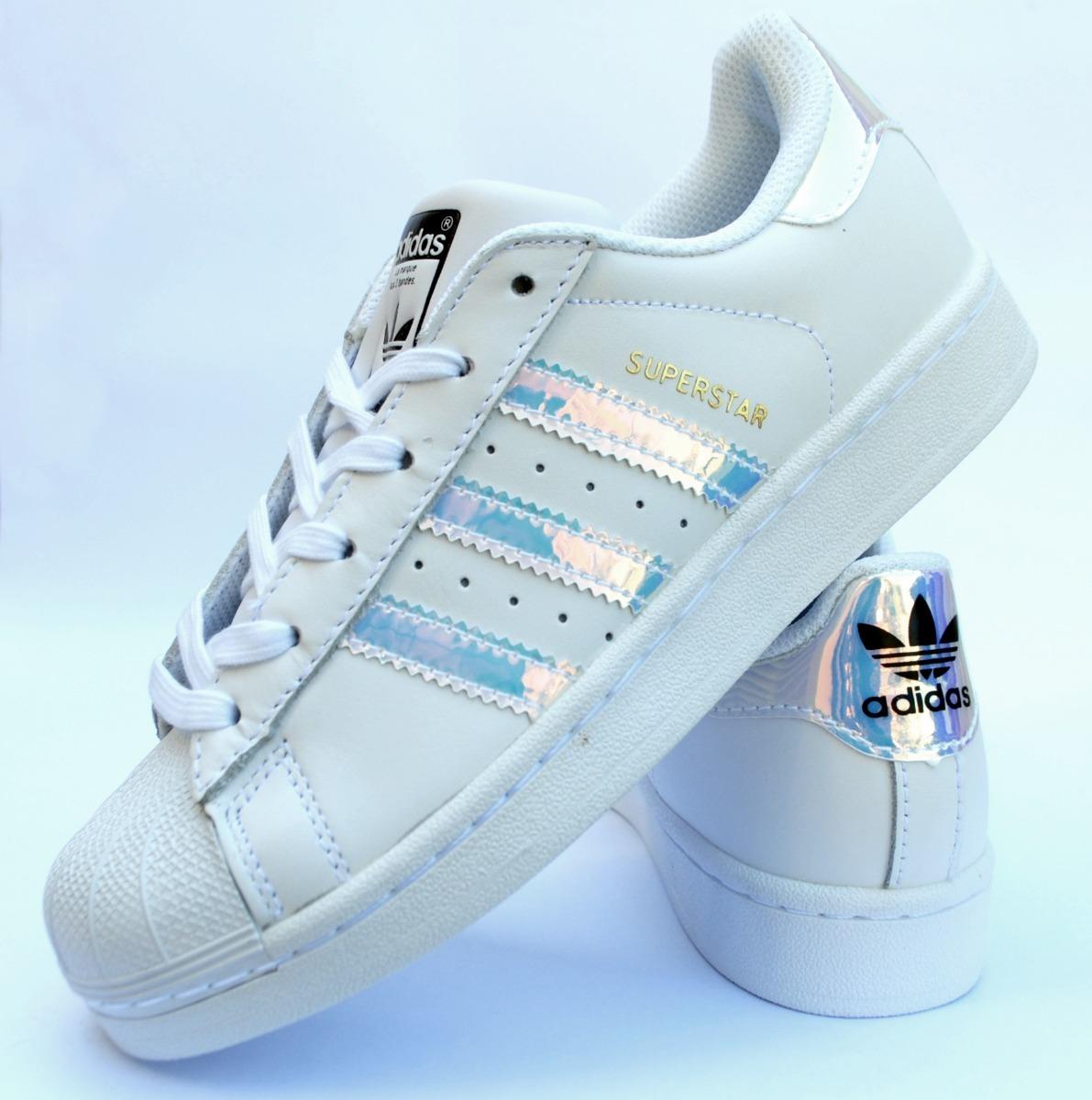 eee84e73adb Zapatillas adidas Superstar Tornasol - $ 3.499,00 en Mercado Libre