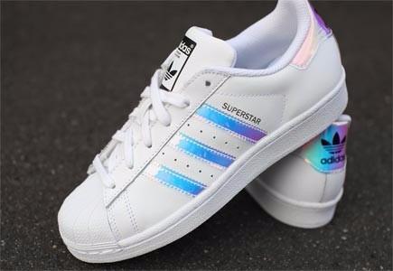 zapatillas adidas superstar tornasol dama
