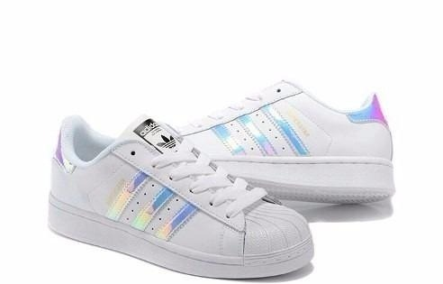 cf40e666267 Zapatillas adidas Superstar Tornasoladas Hologram Originales ...