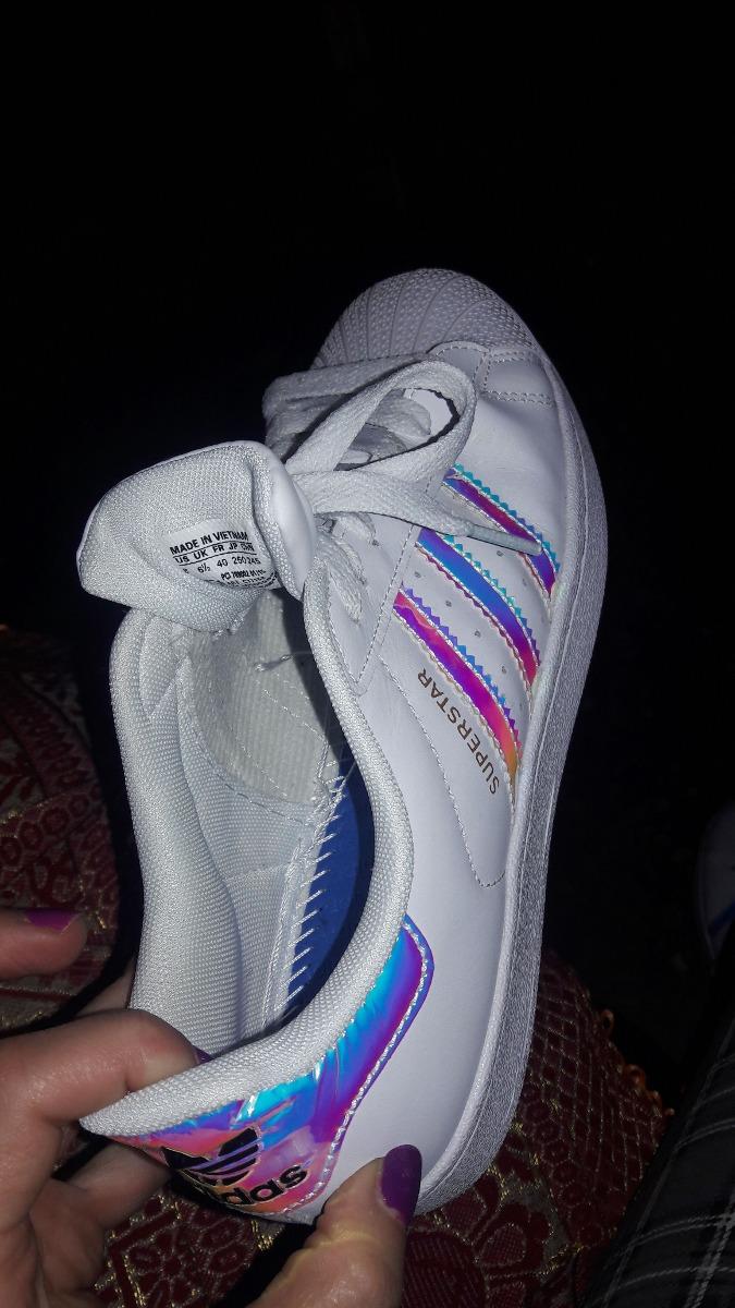 Zapatillas Adidas Superstar Tornasoladas Mujer