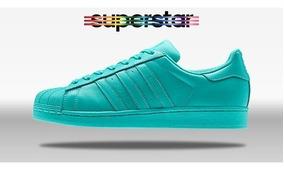 Superstar Adidas Zapatillas Verde Originales Agua DHYW2E9I
