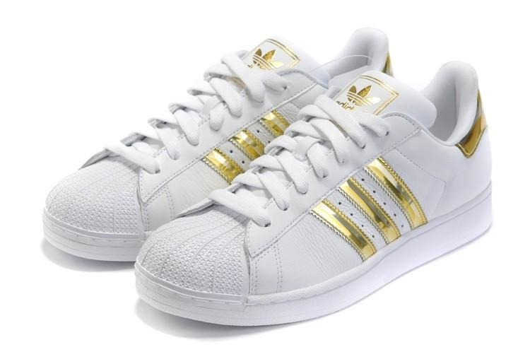 zapatillas doradas adidas