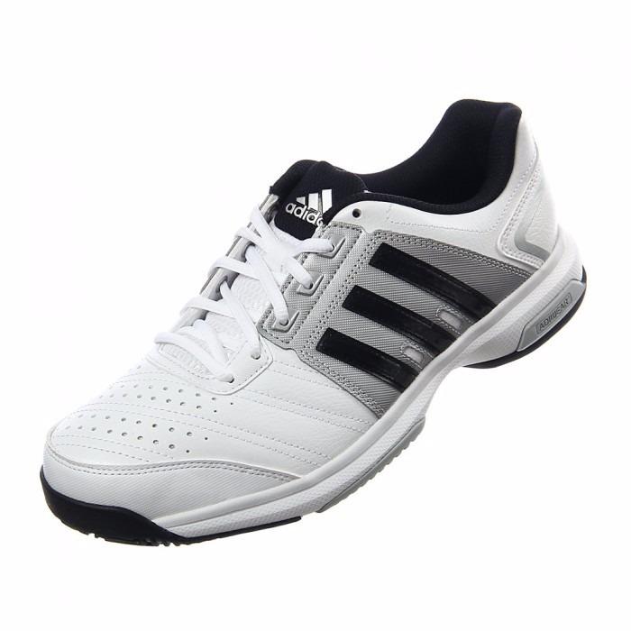 hot sale online 633ca 93712 zapatillas adidas tenis barricade approach str blanco negro
