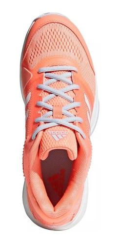 zapatillas adidas tenis barricade club mujer salmón - on
