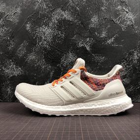 Zapatillas adidas Ultra Boost 39 45 Blanco Y Bordo 39 45