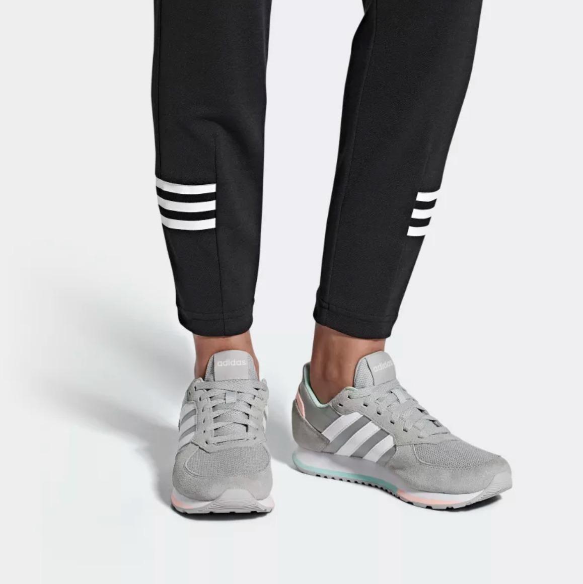 Zapatillas adidas Urbanas 8k W Mujer Negro O Gris Abc Depor