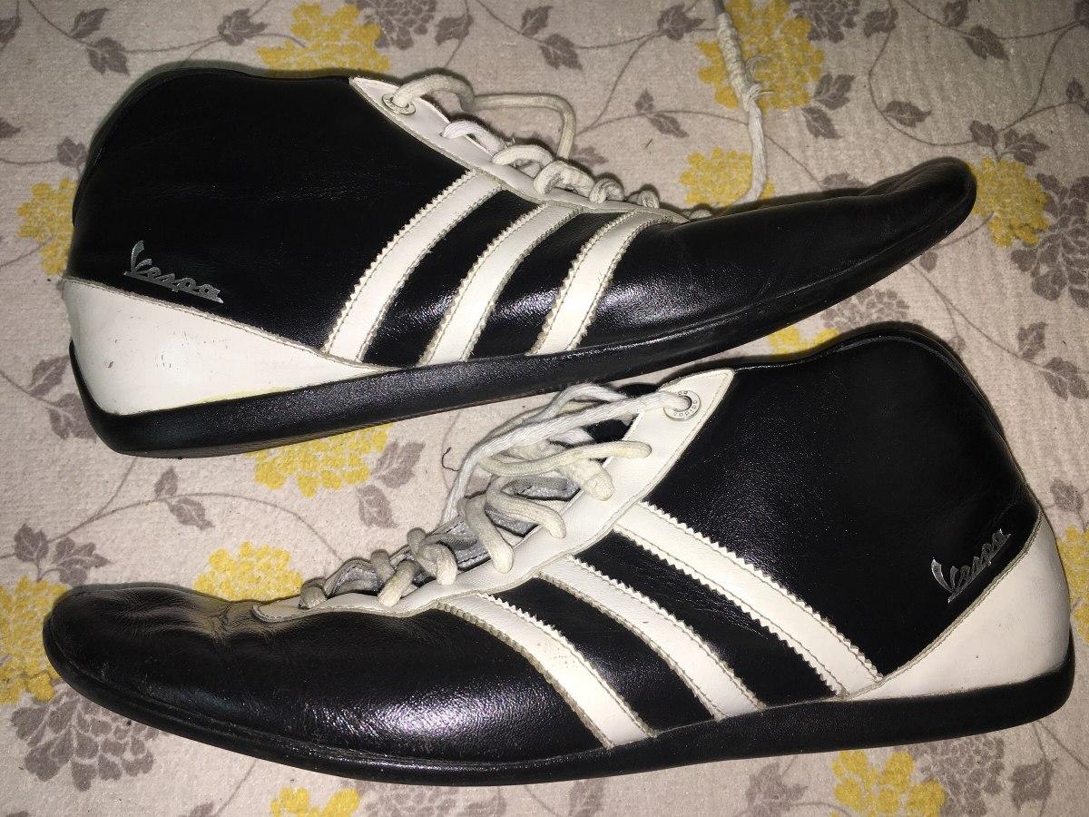 8e34457da46 zapatillas adidas vespa botitas de cuero originales. Cargando zoom.
