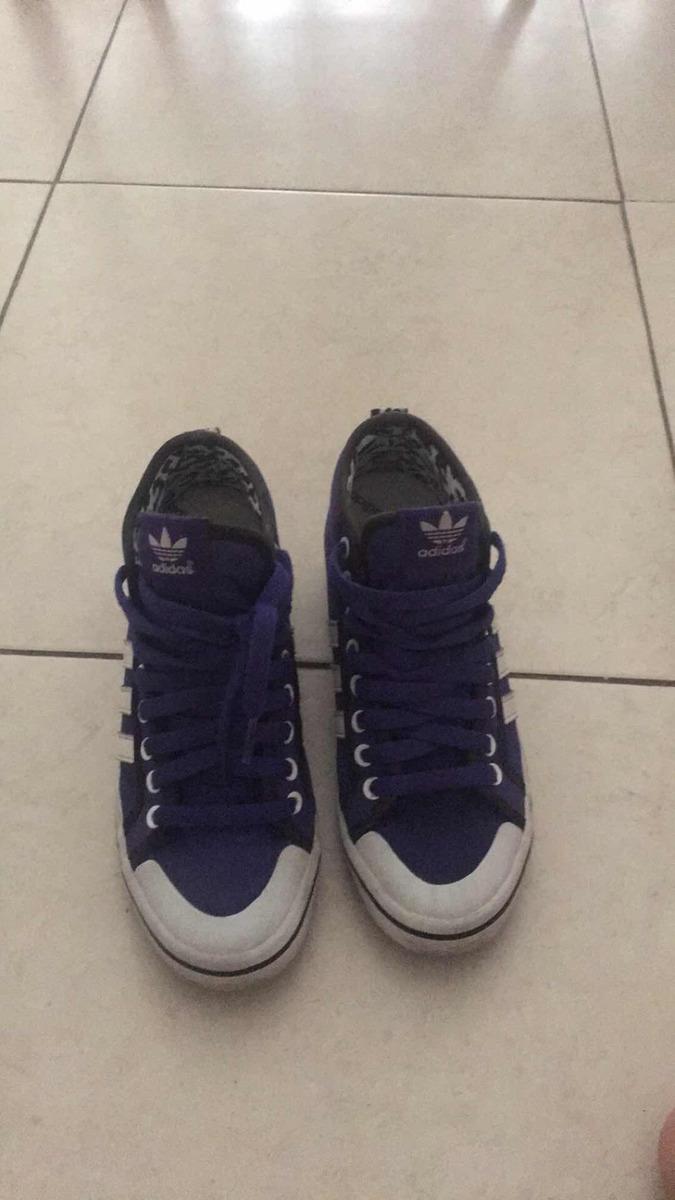 zapatillas adidas violetas taco escondido. Cargando zoom. 18de288488363