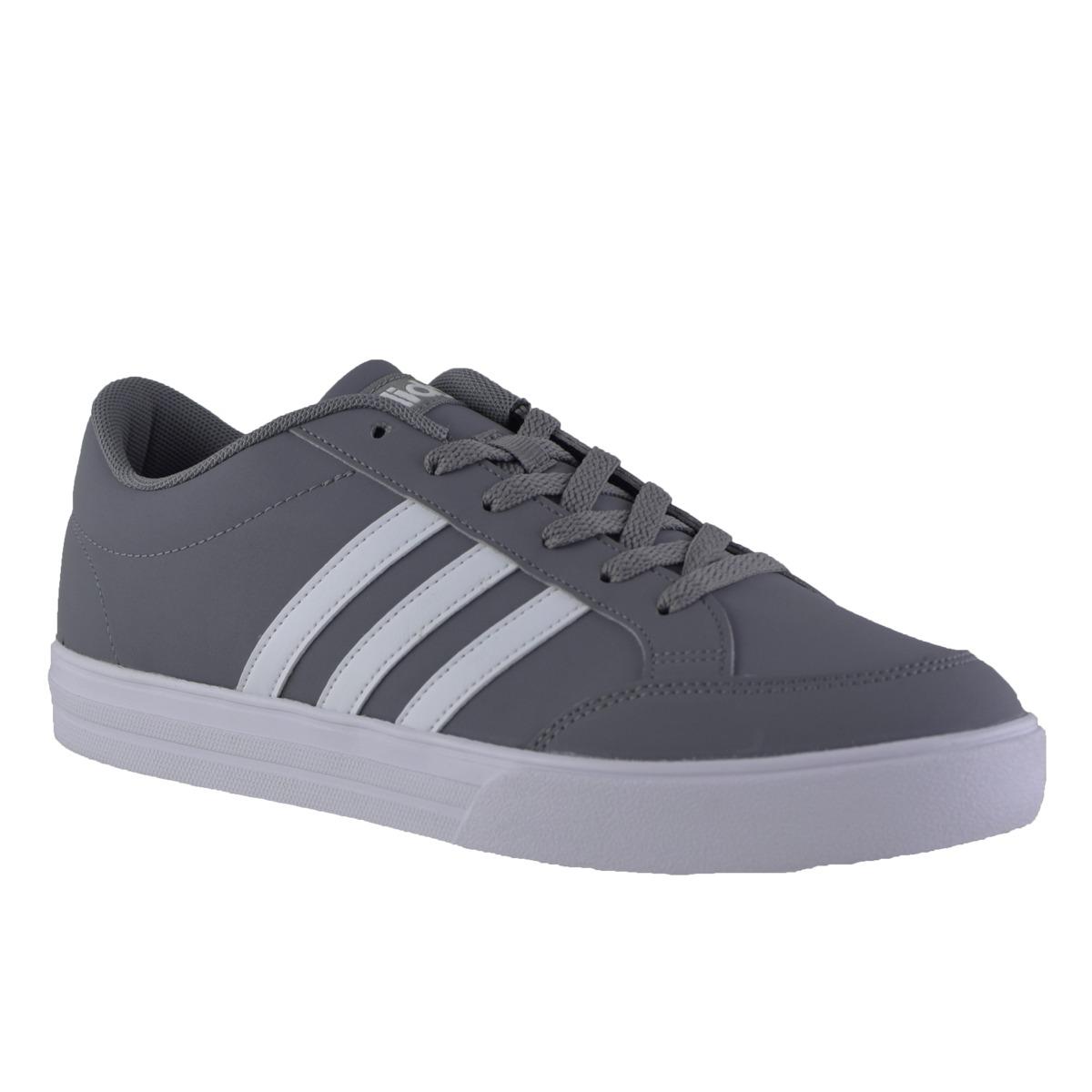 zapatillas adidas hombre grises
