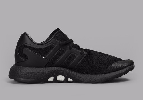 zapatillas adidas y-3 pure boost triple negro // nuevo 2017