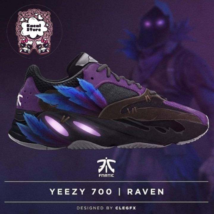 54702b87388 Zapatillas adidas Yeezy 700 Fortnite