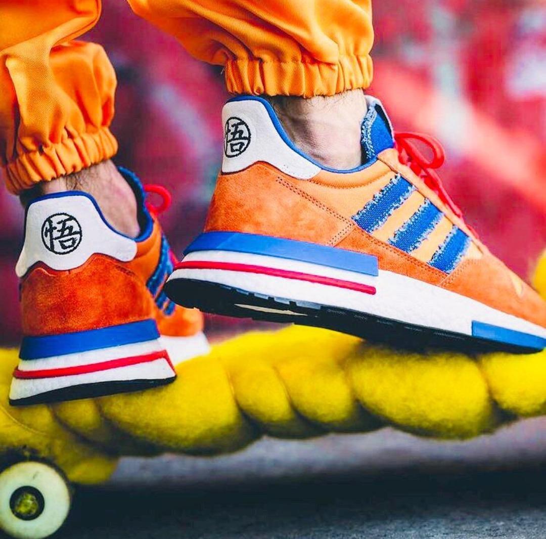 premium selection 5684a 1327c Zapatillas adidas Zx 500 - Dragon Ball Z - Son Goku