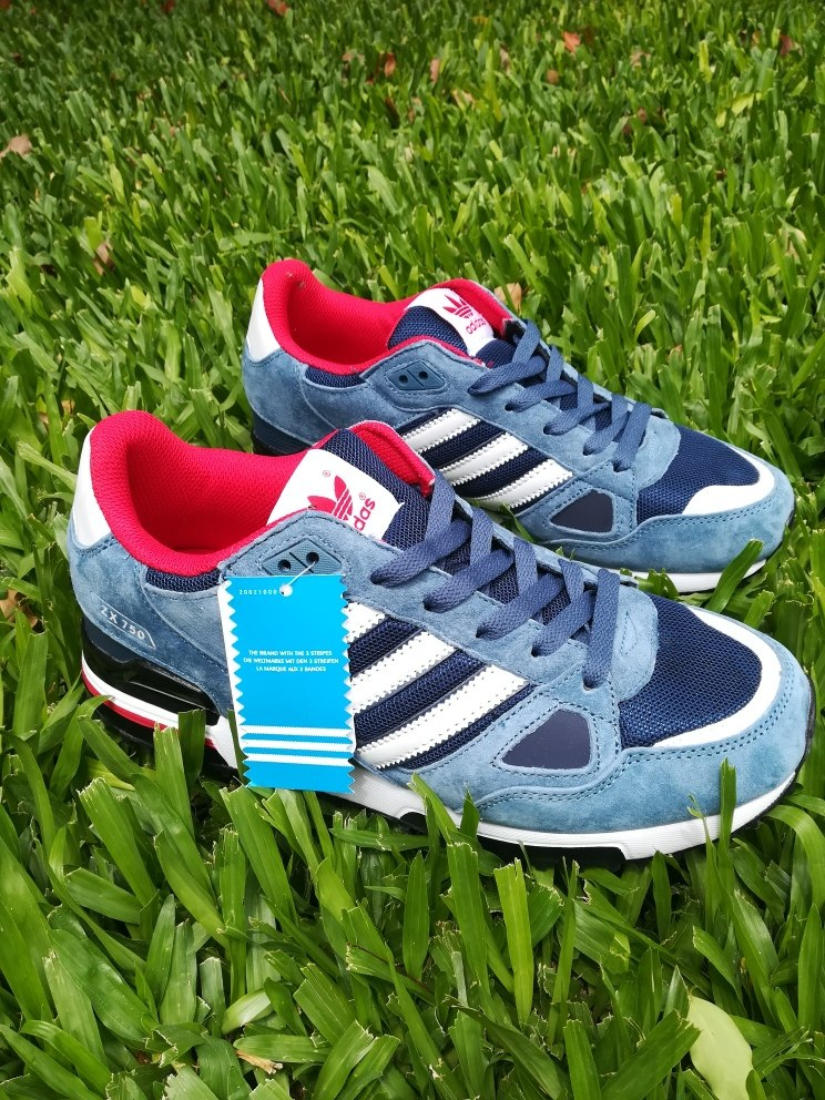 premium selection c926f d0601 zapatillas adidas zx 750 blue. Cargando zoom.