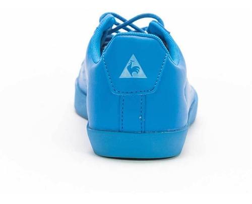 zapatillas agate low azul mujer le coq sportif