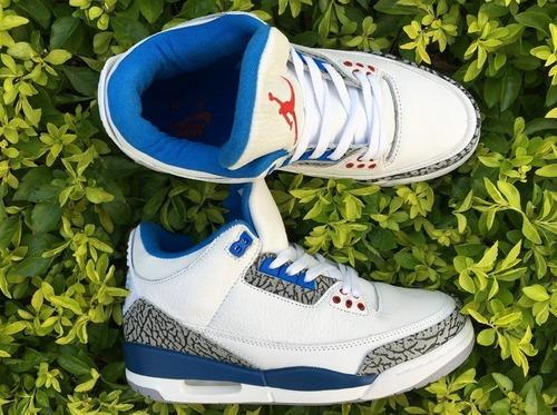 zapatillas air jordan 3 retro true blue