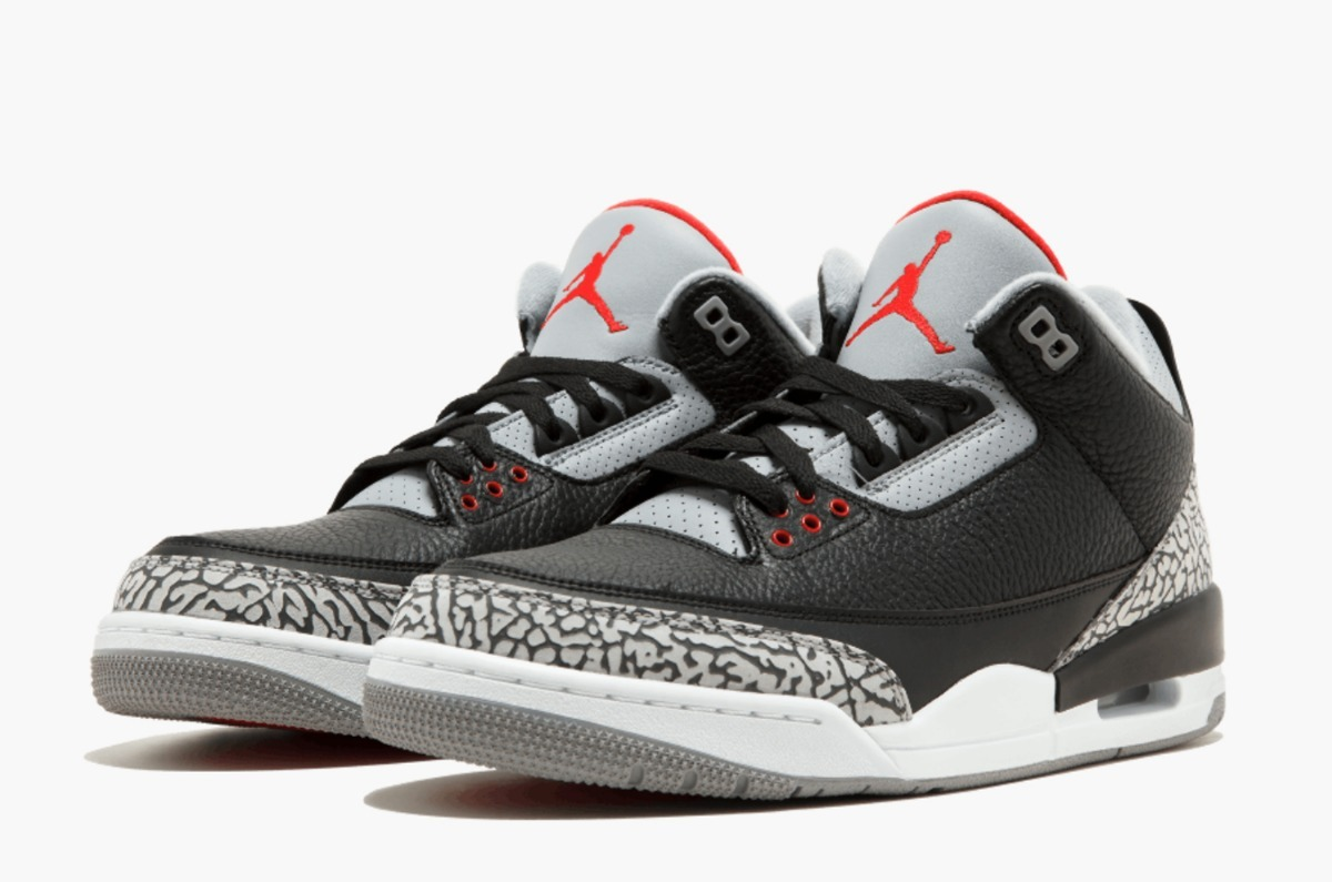 f930d00892be5d ... zapatillas air jordan retro 3 black cement og. Cargando zoom.