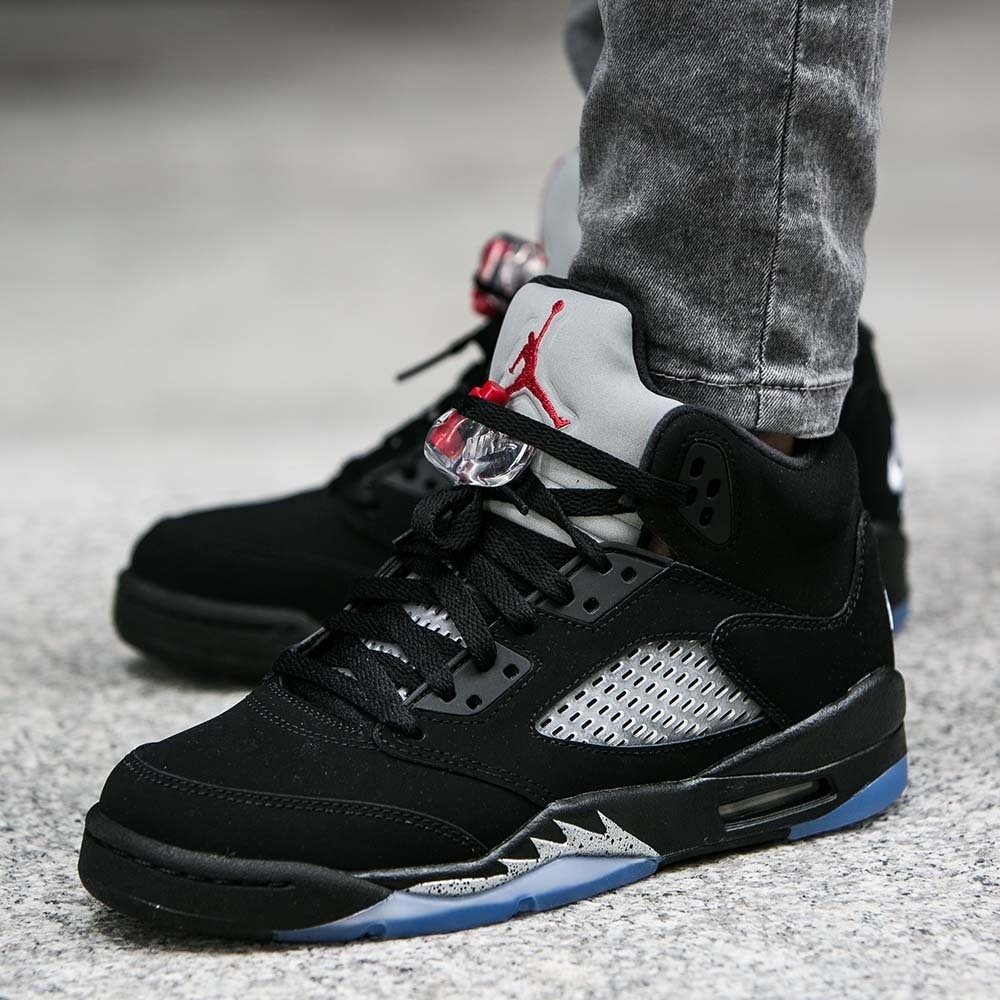 sale retailer 895a8 5fc74 Zapatillas Air Jordan Retro 5 Black Metallic Og - Womens