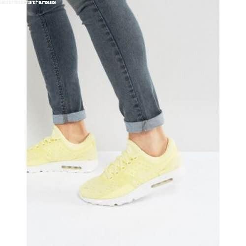 nike air max amarillas mujer