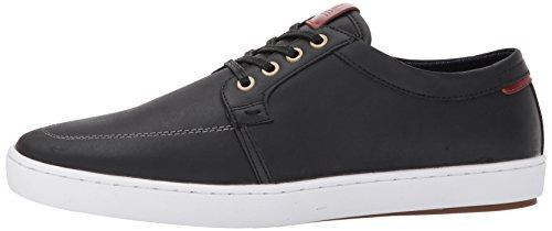 zapatillas aldo men's iberarien fashion, cuero negro, 11...