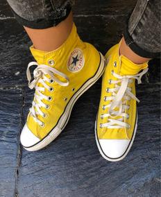 converse niñas all star amarillas