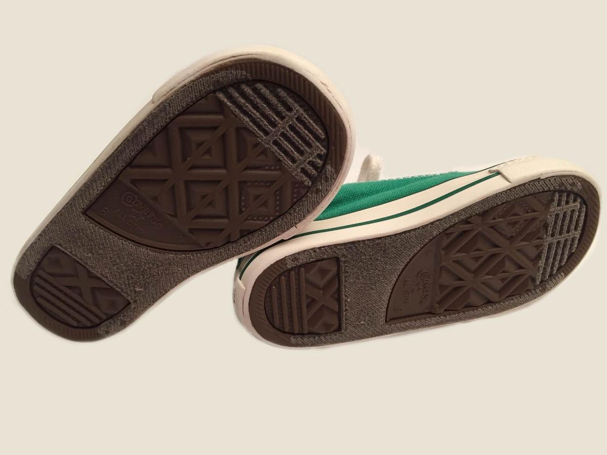 38337eef342bf zapatillas all star converse verde t. 22 original. Cargando zoom.