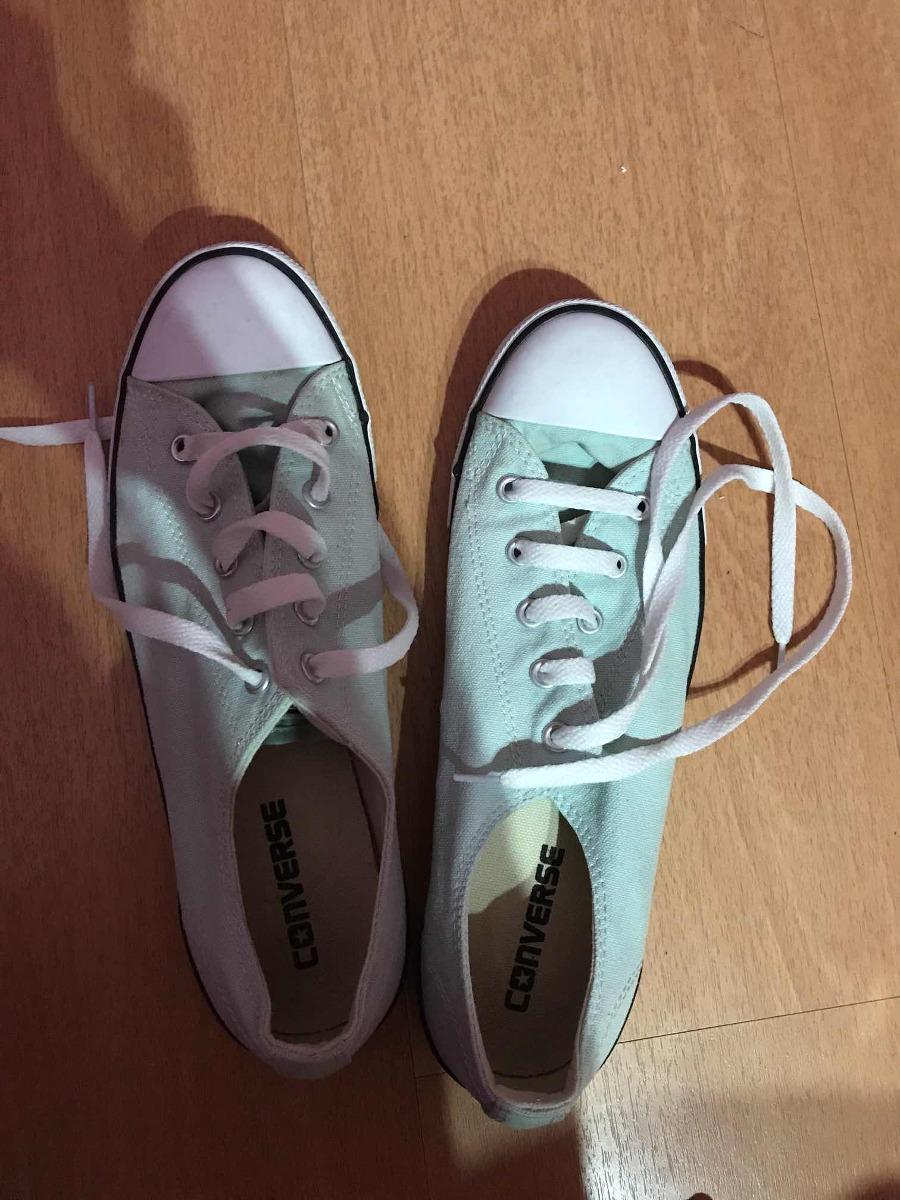zapatillas all star verde agua