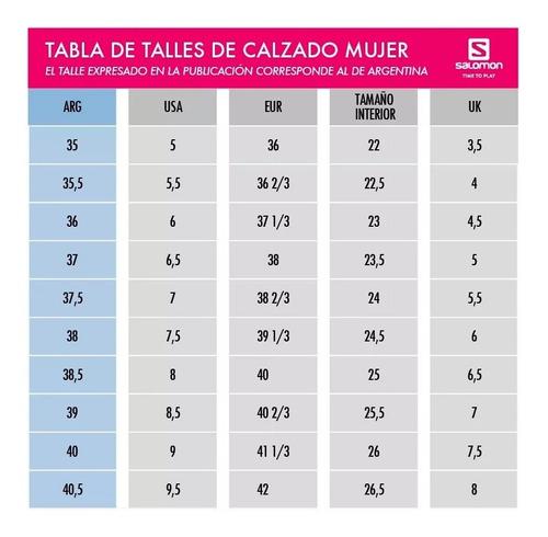 zapatillas alpha cross running senderismo mujer salomon