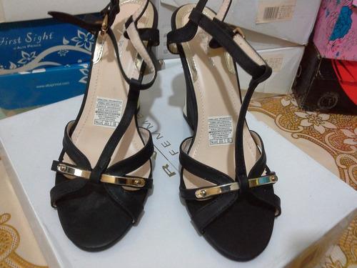 zapatillas altas de mujer.bbbarato nuevo talla 38 negras
