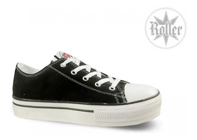 all star converse mujer negras altas