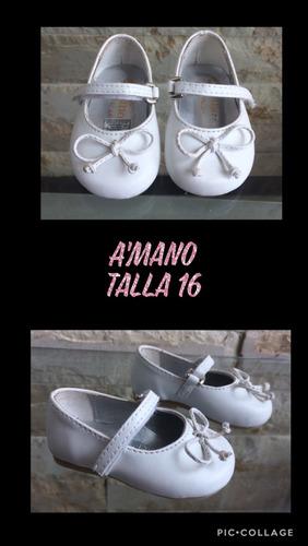 zapatillas a'mano bebe niña