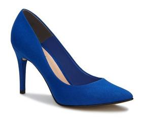 36389919353 Polly Chiquitas Tacon Aguja Mujer - Zapatos Azul en Mercado Libre México